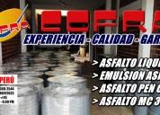 Venta de aditivos asfalticos de calidad -asfaltos y mantos asfalticos