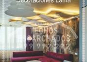 Bonitos elegantes decorativos;  escarchados.  cel:. 999 997 222-
