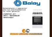Servicio tecnico para cocinas balay mantenimiento y reparacion