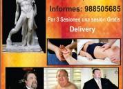 Masajes para hombres mayores de edad y gorditos