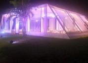 Toldos arquitectonicos para eventos de matrimonios - aniversario de empresas - quinceaÑos