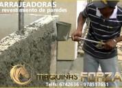 Lanzadora de mortero - herramienta tarrajeo pared