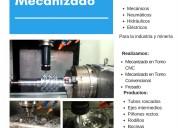 Fabricacion de accesorios y repuestos para la industria