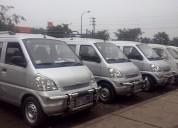 Alquilo minivan desde s/. 70 por día.