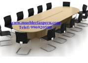 Mesa de directorio - mesa de reunion - mesa de melamina