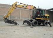 Excavadora neumatica caterpillar m 315 c $ 45,000.00 a tratar 981379192/997470736