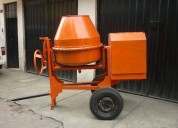 Mezcladora concreto ttpo trompo 9p3 motor gasolinero 981379192/997470736