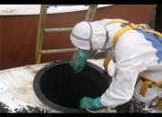 Limpieza de tanque de agua