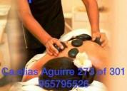 masajes antiestrés relajantes y descontracturates