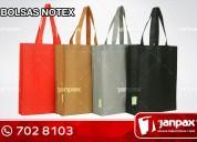 Bolsas notex- janpax