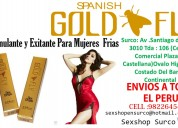 Mujer fridida spanish fly gold -sexshopsurco.com