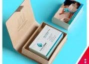 Tarjetas personales full color envÍo de delivery todo lima gratis