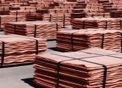 Disponibilidad de cobre y latón al sector manufacturero