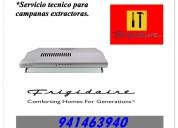 Frigidaire servicio tecnico para campanas extractoras en lima 941463940