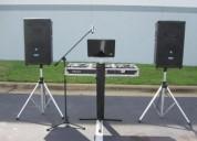 alquiler de equipos de sonido, luces inteligentes y efectos - 966055510