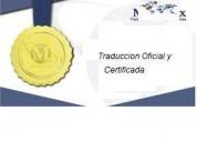 Traduccion certificada de ingles a español -lima