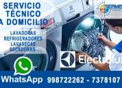 Servicio electrolux 998722262 técnico de secadora – la victoria
