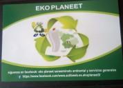 Fumigación y desinfección buscanos en facebook eko planeet
