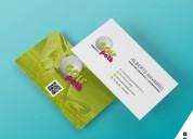 Tarjetas personales a full color con delivery gratis