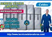 Cieneguilla - 998722262 soluciones coldex reparación de refrigeradoras