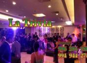 Orquesta show música variada orquesta para matrimonio la trivia orquesta para fiestas: lima perú