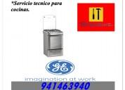 General electric reparacion de cocinas y hornos mantenimiento en lima
