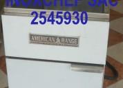 Freidoras de papas 2 canastillas de acero inox 2545930