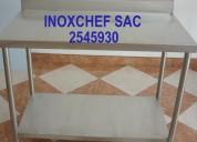 Mesas de trabajo para panaderia acero inoxidable 2545930lima