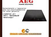 Reparacion de cocinas vitroceramicas aeg en lima 982508628