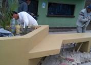 Revestimiento de terrazo granito lavado - pulido de pisos - instalacion