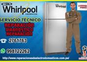Al mejor precio!¡ reparación de refrigeradoras wirlpool - 998722262 breÑa