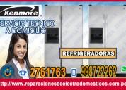 Al mejor precio!¡ 998722262- reparación de refrigeradoras kenmore- comas