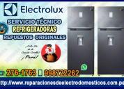 Exclusivo reparaciones al toque!¡ refrigeradoras electrolux 998722262-// cieneguilla