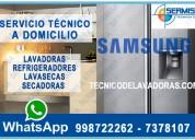 Soluciones inmediatas reparaciones de refrigeradoras samsung – 2761763// rimac
