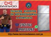 soporte técnico profesional a domicilio reparamos refrigeradoras daewoo – 2761763 san isidro