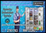 2761763 - centro de servicio refrigeradoras maytag – san borja