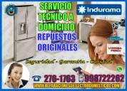 Ayuda técnica a domicilio2761763  – reparación refrigeradoras indurama – surquillo.