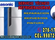 Técnicos refrigeradoras panasonic-- goldstar 998722262 -