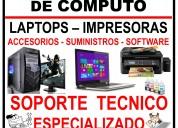 Soporte tecnico en laptops y pcs
