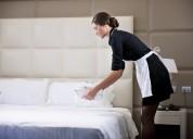 Busco trabajo de empleada domestica, niÑera y housekeeping
