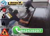 Instalaciones de mantos asfalticos a nivel nacional