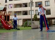 Limpieza de condominios, edificios
