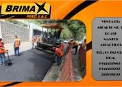 Los expertos en asfalto y manto asfÁltico !!! productos a1