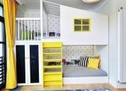 dormitorios infantiles en melamine