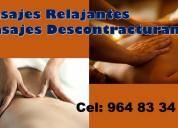 Suprime las tensiones con masajes
