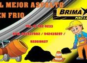 Venta de asfalto rc-250 en brimax peru solo calidad
