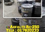 Ventas de asfalto liquido mc-30 para imprimado en brimax peru