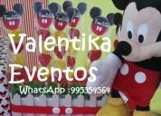 Mickey  mouse ,decoraciones  temáticas , candy bar , toldos infantiles en lima