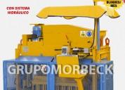Máquinas ponedoras bloques concreto