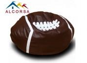 Puff balon de futbol americano